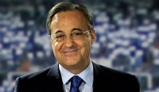 Florentino Perez, Presiden Real Madrid.