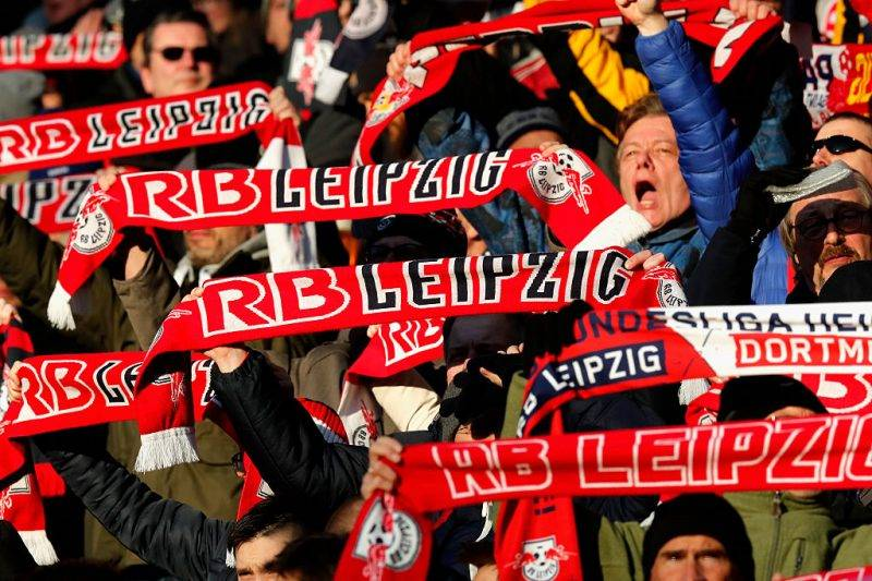 RB Leipzig, tim kejutan di Bundesliga musim ini.