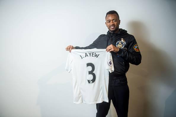 Jordan Ayew, pemain anyar Swansea City,
