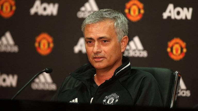 Jose Mourinho, manajer Manchester United.