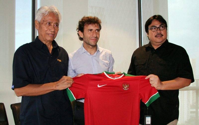 Luis Milla, pelatih timnas Indonesia.