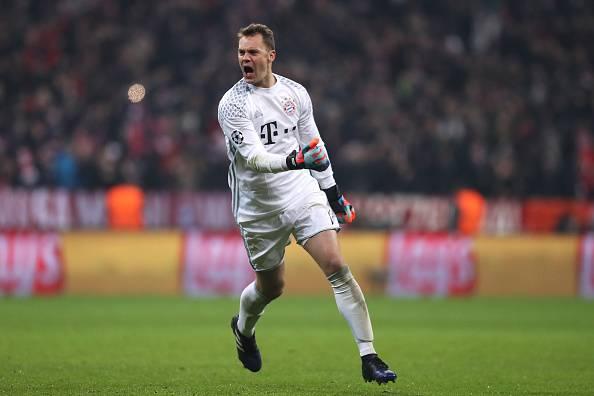 Manuel Neuer, kiper Bayern Munich.