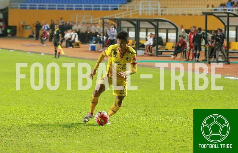 Zalnando, bek Sriwijaya FC.