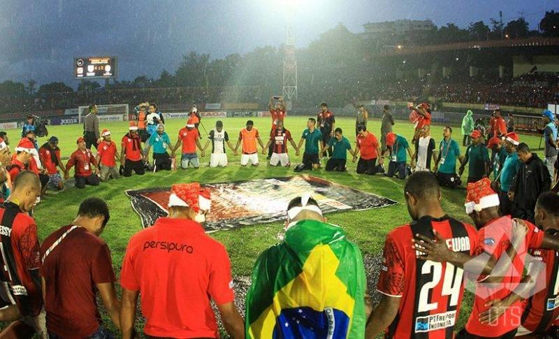 Persipura Jayapura, salah satu tim terbaik Indonesia.