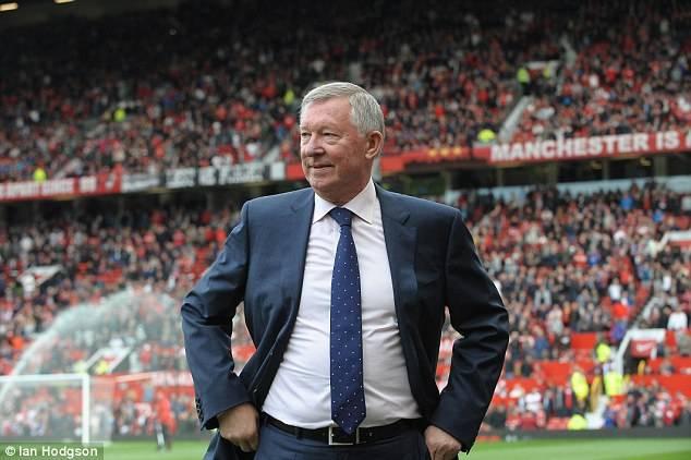 Sir Alex Ferguson, manajer Manchester United.