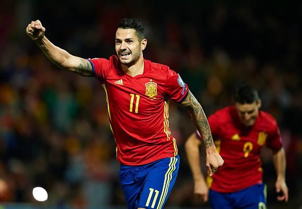 Vitolo, timnas Spanyol.
