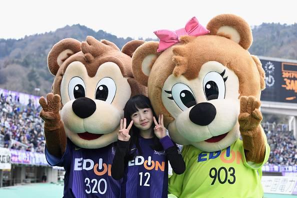Maskot Klub J.League Sanfrecce Hiroshima