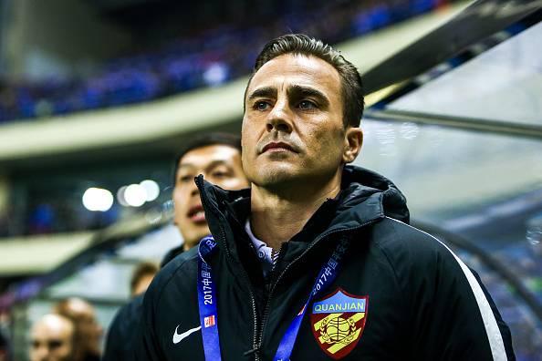 Fabio Cannavaro Liga Super Cina