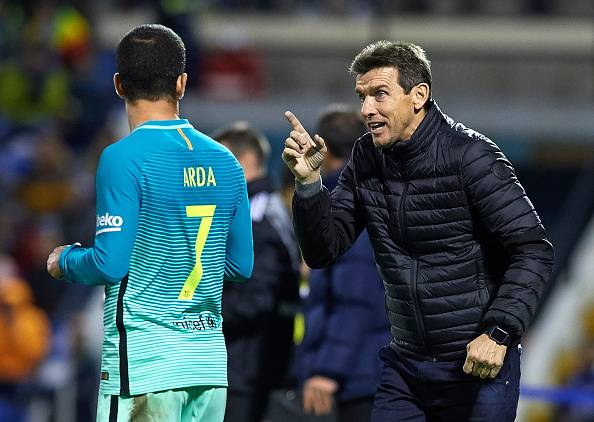 Juan Carlos Unzue Pelatih Barcelona