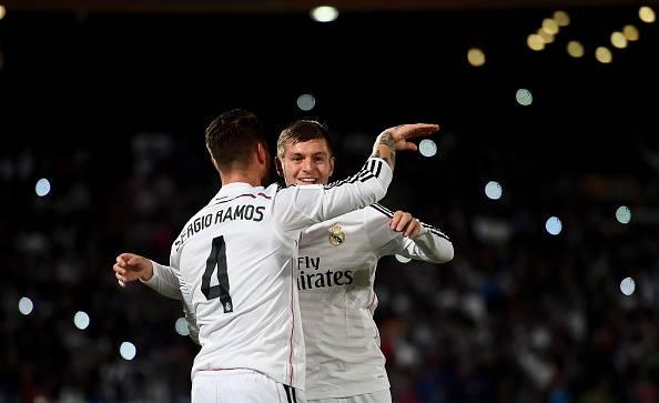 Dahsyatnya Koneksi Toni Kroos dan Sergio Ramos
