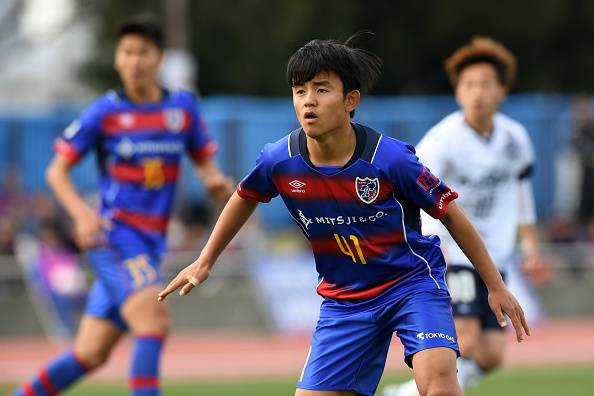 Mengenal Takefusa Kubo, Pencetak Gol Termuda J.League