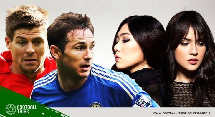 Antara Raisa-Isyana dan Gerrard-Lampard