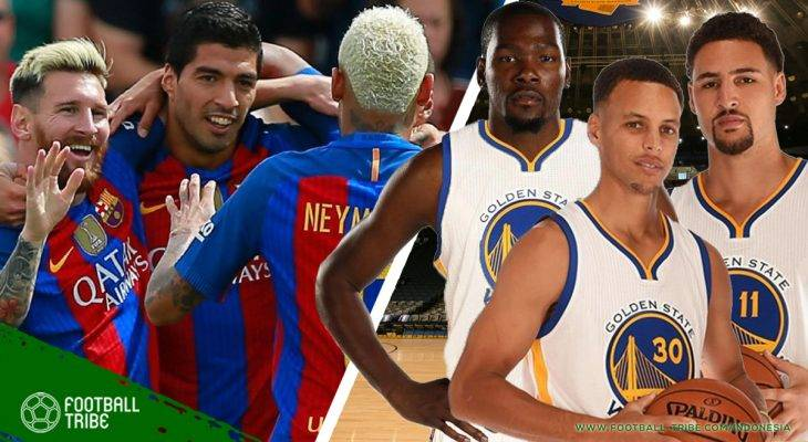 Similaritas FC Barcelona dan Golden State Warriors