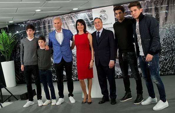 Empat Zidane Junior dengan Masa Depan Cerah