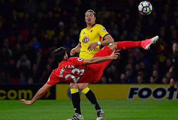 Gol Salto Wayne Rooney dan Emre Can, Mana Lebih Baik?