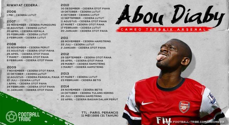 Abou Diaby: Cameo Terbaik Arsenal
