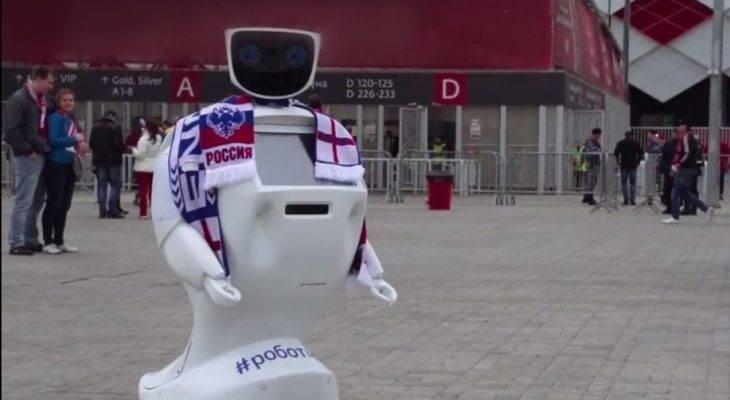 Mengenal Alantim, Robot Bodyguard Suporter Inggris di Piala Dunia 2018