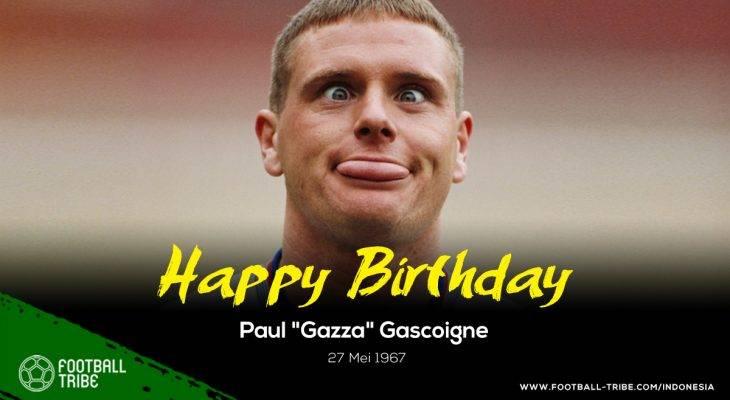 """Paul """"Gazza"""" Gascoigne, Cermin Sepak Bola Inggris yang Sejati"""