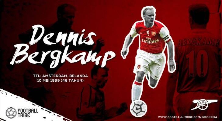 Dennis Bergkamp, Ia yang Mulia dan Agung di Sepak Bola