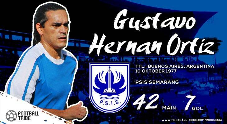 Gustavo Hernan Ortiz: Penguasa Lini Tengah PSIS Semarang