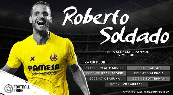 Jatuh Bangun Karier Roberto Soldado