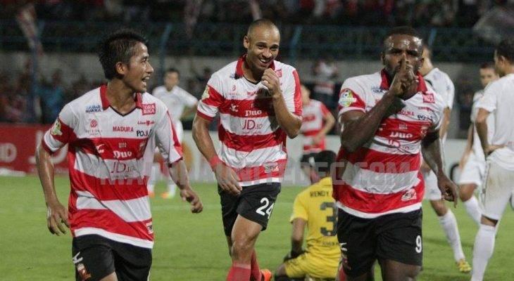Teror Lini Depan Madura United
