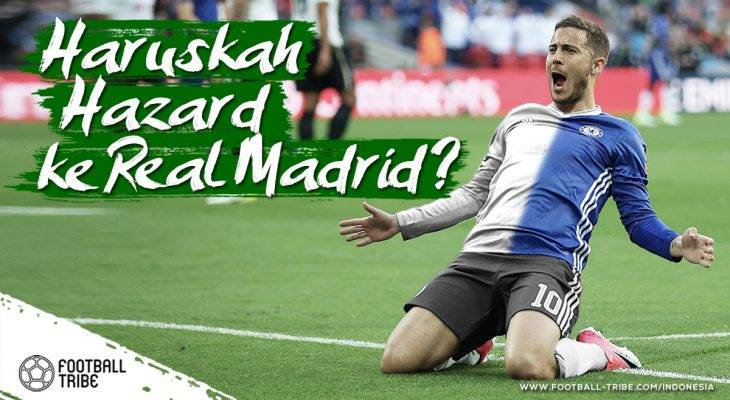 Ke Mana Sebaiknya Eden Hazard Musim Depan?