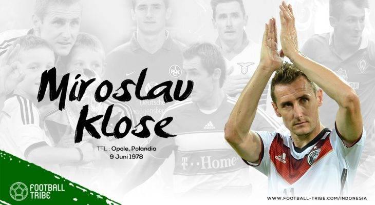 Manusia Baik Itu Bernama Miroslav Klose