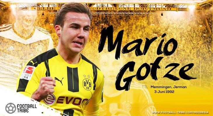 Kebangkitan Mario Götze bersama Borussia Dortmund
