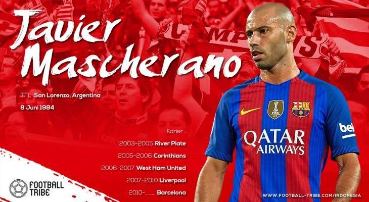 Belajar Memasak dengan Javier Mascherano