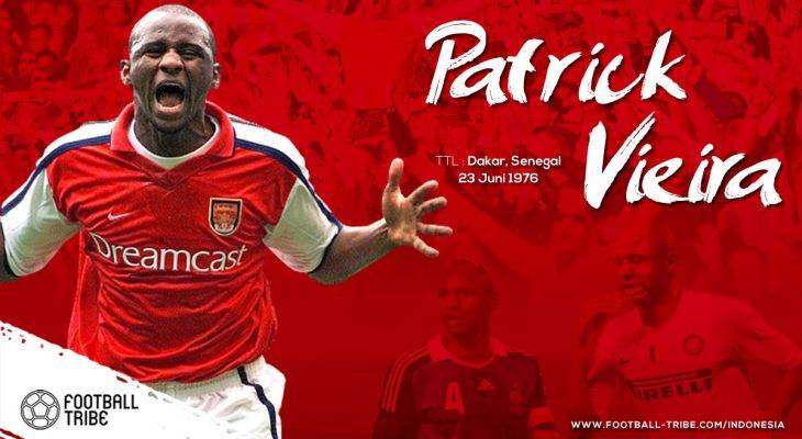 Patrick Vieira, dari Cannes, London, hingga New York