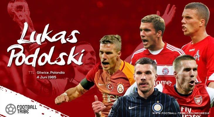 Jatuh Bangun Lukas Podolski Meraih Mimpi