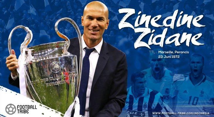 Zinedine Zidane: Tenang, Karismatik dan Mematikan