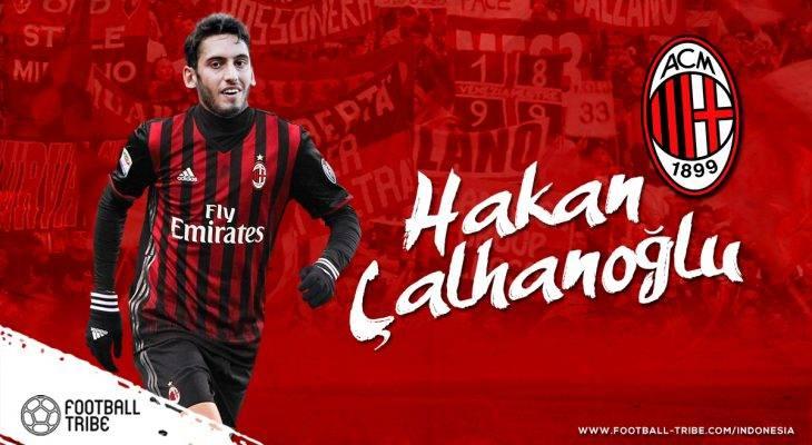 Dua Cara AC Milan Memaksimalkan Hakan Calhanoglu