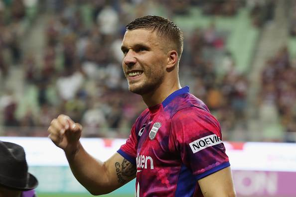 Debut Manis Lukas Podolski di J.League