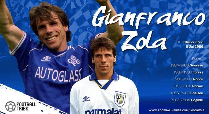 Jatuh Cinta kepada Gianfranco Zola