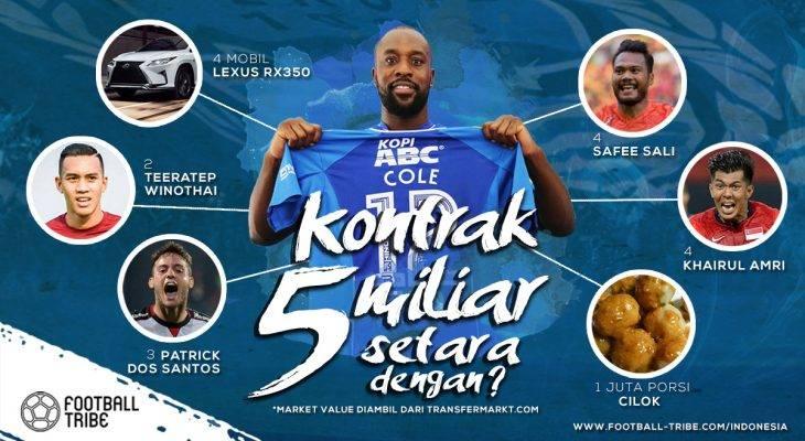 Agustus 2017: 'Serangan Balik' Carlton Cole ke Persib Bandung