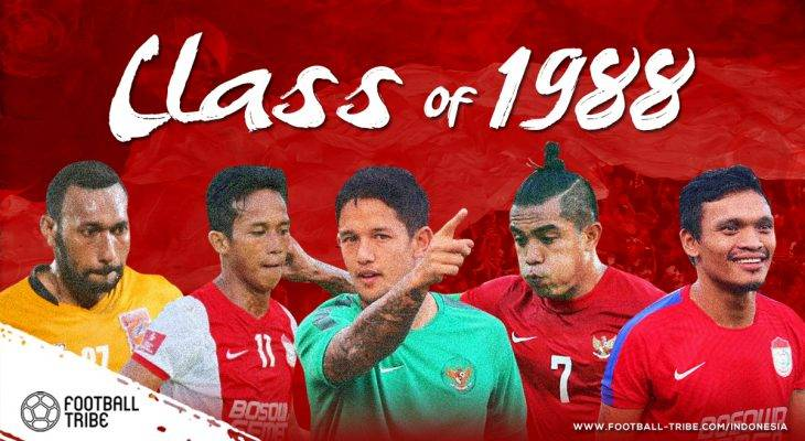 Class of 1988, Tahun Lahirnya Para Penyerang Hebat Indonesia Era Modern