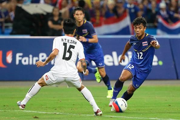 Para Pesepak Bola Muslim dari Thailand