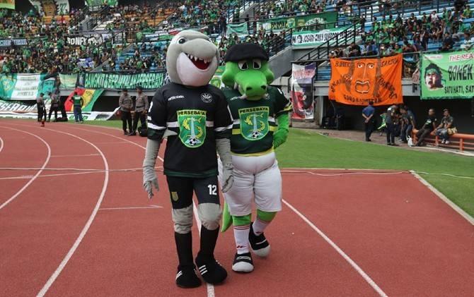 Maskot klub-klub di liga Indonesia jojo dan zorro
