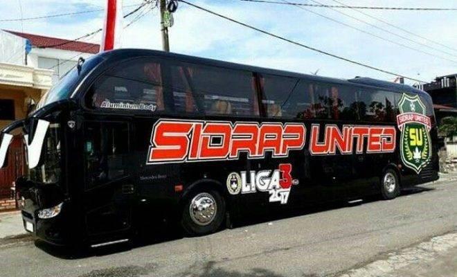 Sidrap United: Klub Liga 3 dengan Bus Bintang Lima