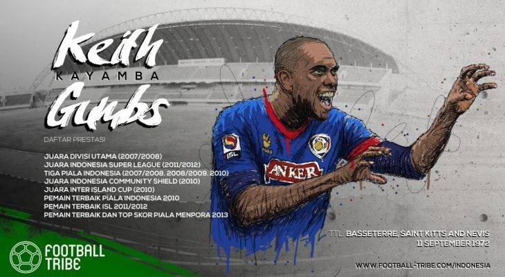 Keith 'Kayamba' Gumbs: Satu Gol, Satu Selebrasi