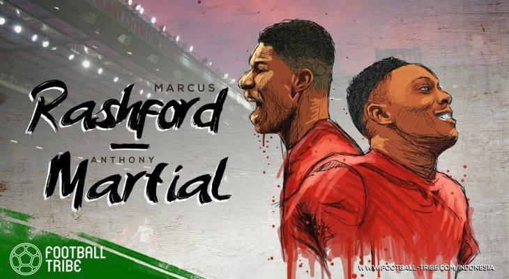 Marcus Rashford dan Anthony Martial: Dua Tanduk Manchester United