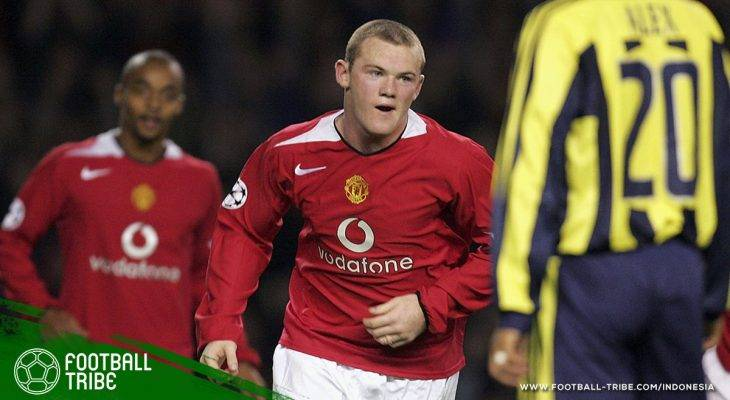 28 September 2004, Debut Wayne Rooney untuk Manchester United