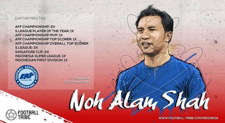 Noh Alam Shah, Legenda Singapura yang Dicintai di Indonesia