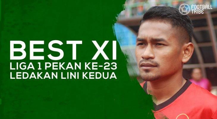 Best XI Liga 1 Pekan ke-23: Ledakan Lini Kedua