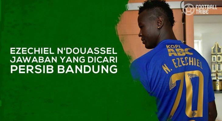 Ezechiel N'Douassel adalah Jawaban yang Dicari Persib Bandung