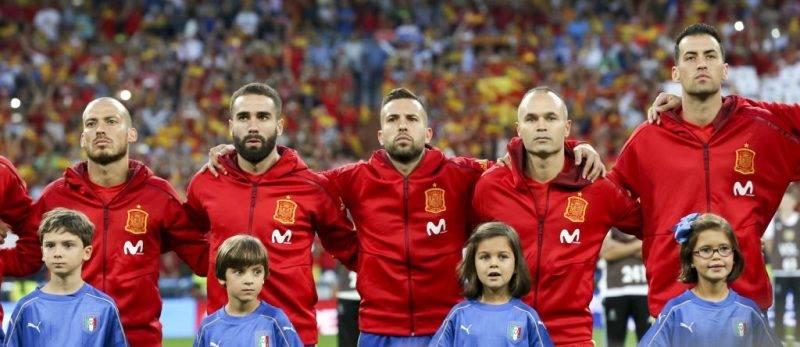 Skuat Spanyol di Piala Dunia 2018