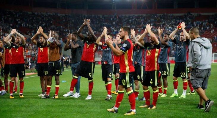 Isyarat Dua Tangan di Telinga Timnas Belgia dan Tiket Piala Dunia 2018