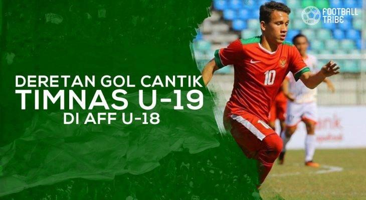 Gol-Gol Indah Timnas Indonesia U-19 di AFF U-18